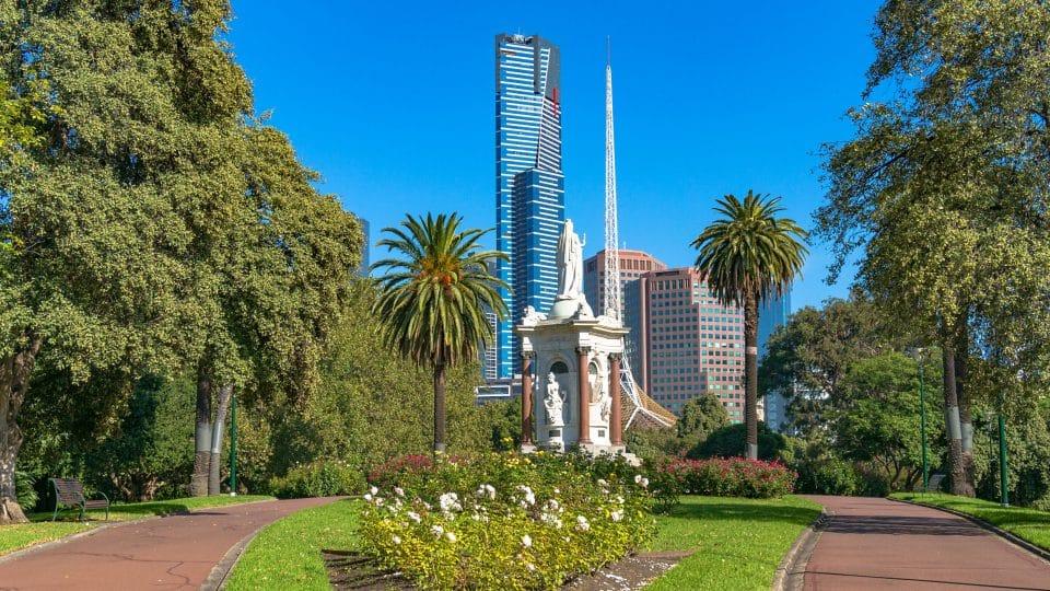 أستراليا - حديقة النباتات الملكية في ملبورن