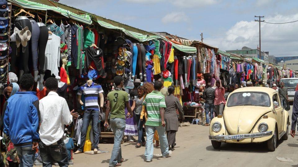 أفريقيا - أديس ميركاتو: السوق الشعبي العظيم