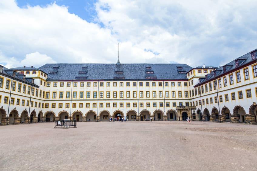 ألمانيا - مسرح اكهوف بقصر فريدنشتاين