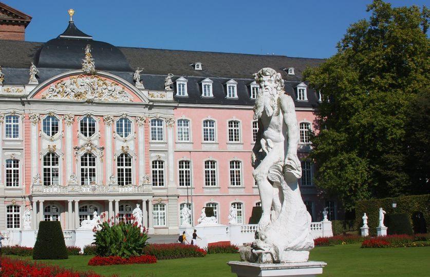 ألمانيا - Palais walderdroffs أشهر بارت ترير مدينة النبيذ