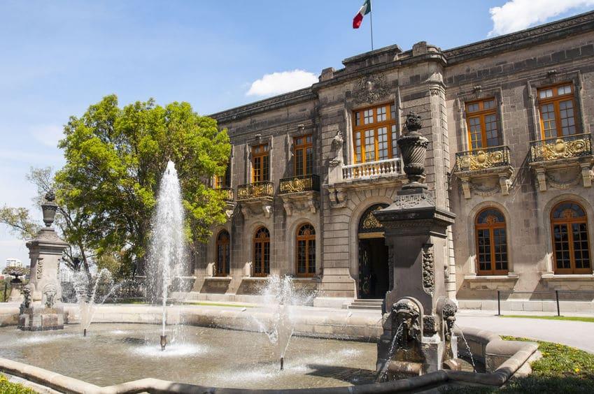 أمريكا الوسطى - قلعة تشابولتيبيك: قلعة عريقة في المكسيك