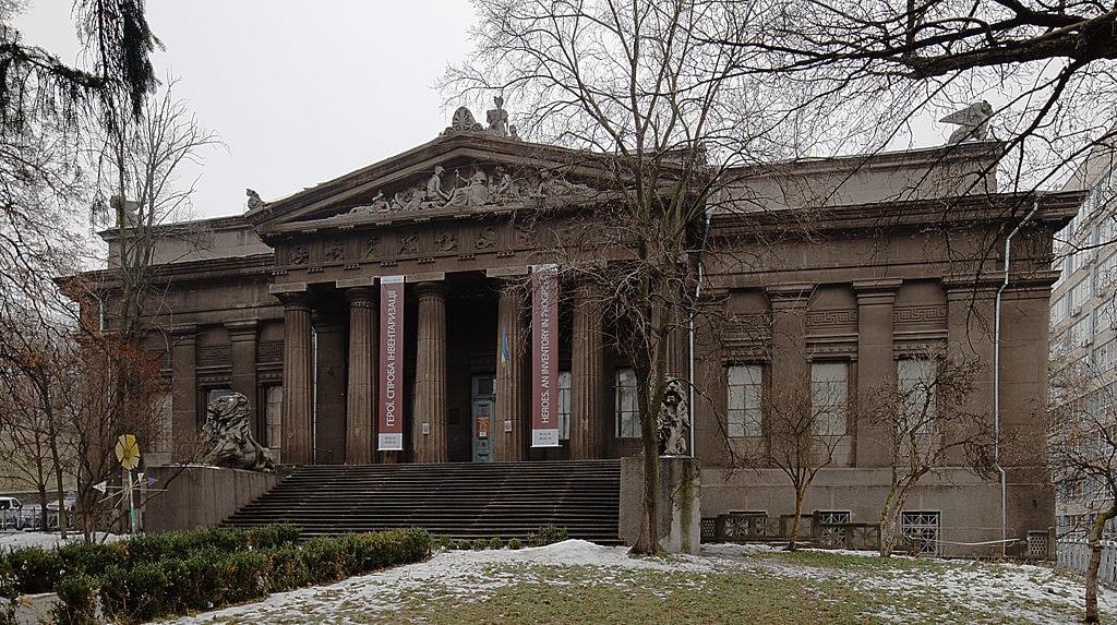 أوكرانيا - متحف الفنون الوطني: متحف مُخصص في الفنون الأوكرانية