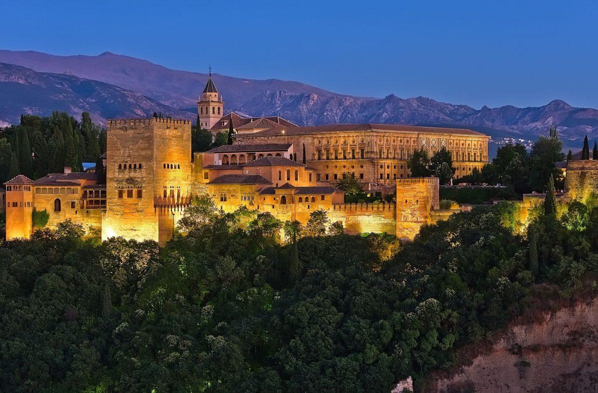 إسبانيا - قصر الحمراء