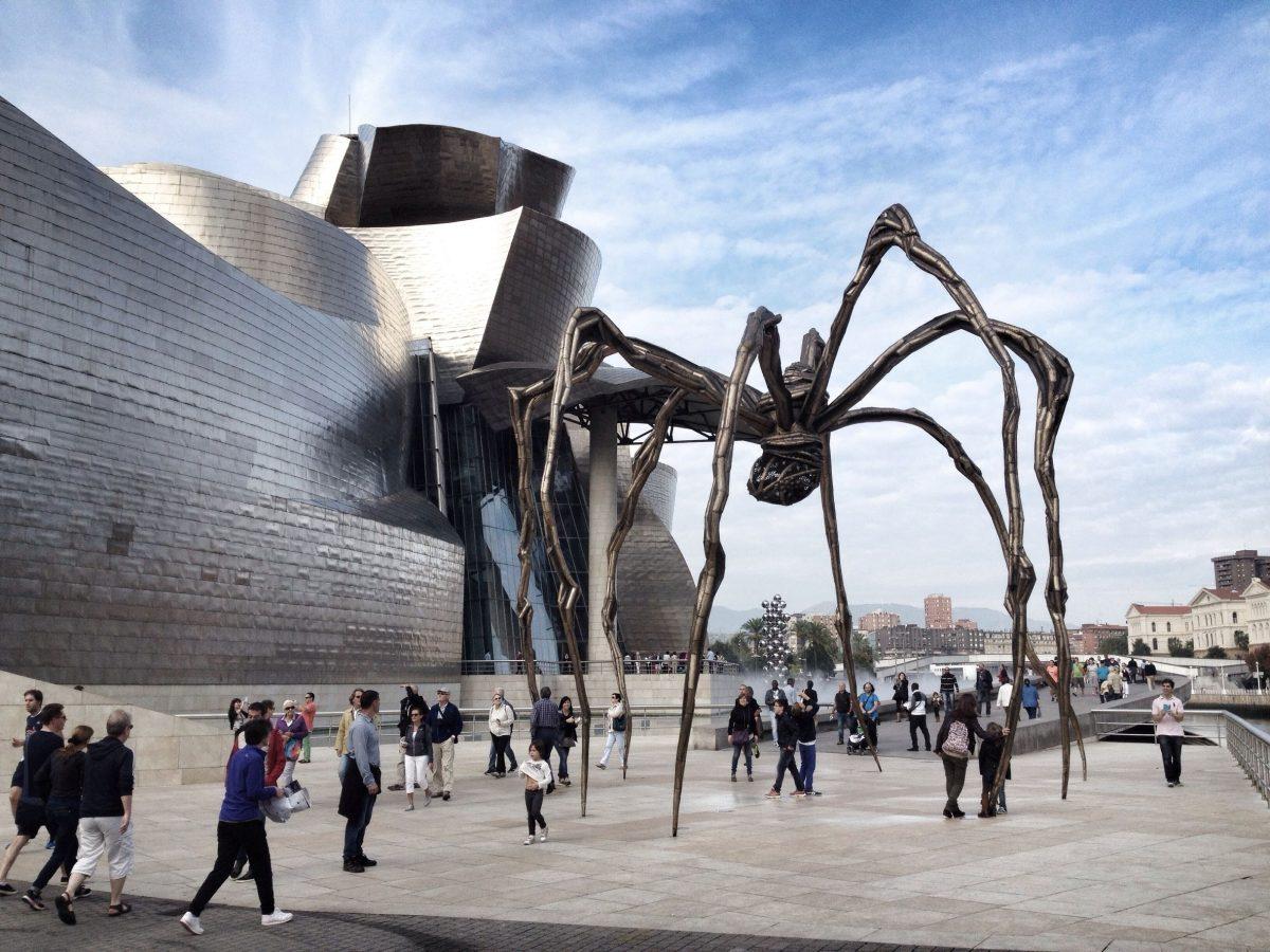 إسبانيا - متحف غوغنهايم بلباو