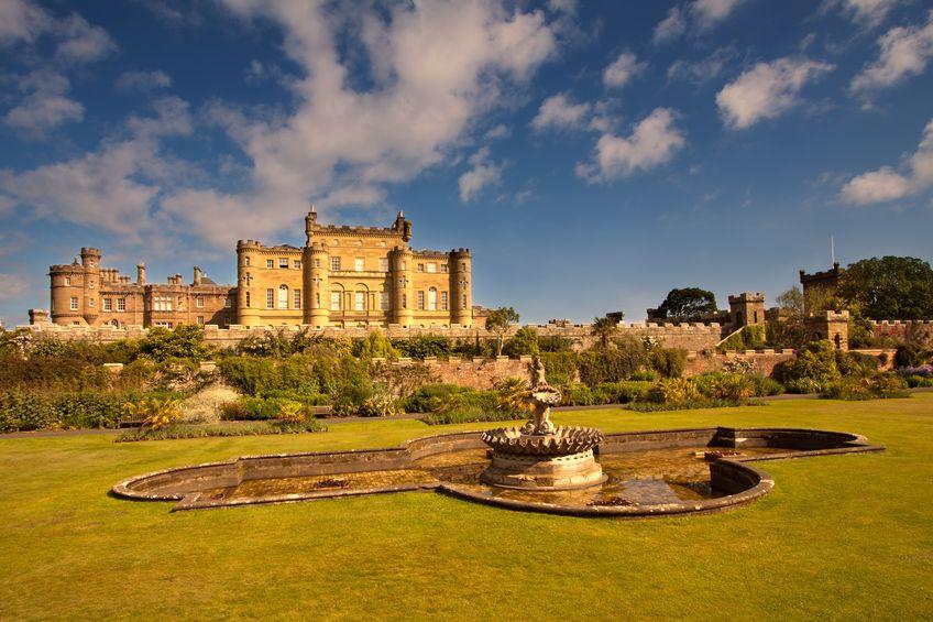 إسكتلندا - قلعة Culzean