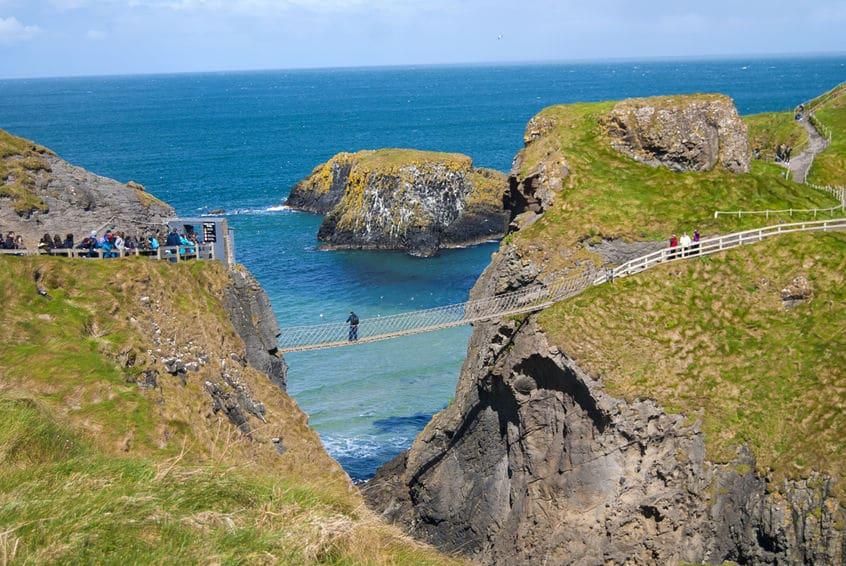 إيرلندا الشمالية - جسر كاريك واحد ريد حبل