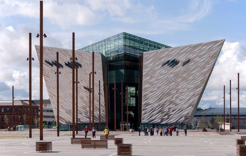 إيرلندا الشمالية - متحف تيتانك بلفاست البحري