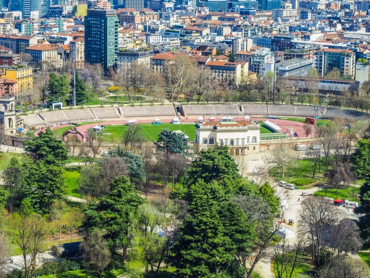 إيطاليا - حديقة سيمبيوني