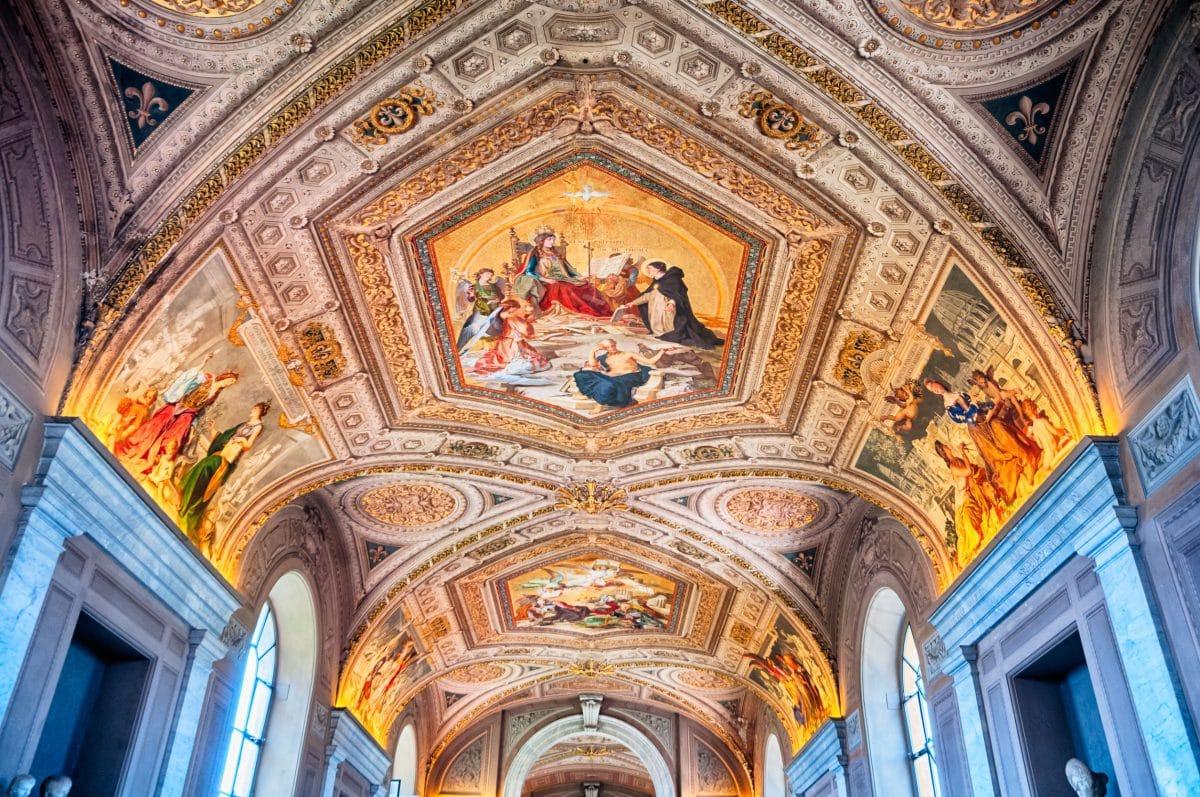 إيطاليا - متاحف الفاتيكان