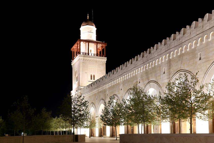 الأردن - مسجد الملك حسين: مسجد لا يُفوت في الأردن
