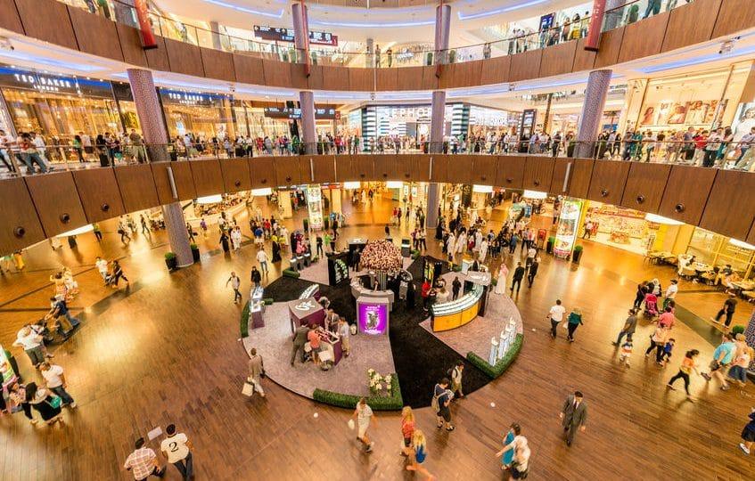 الإمارات - دبي مول: مركز التسوق الأهم في العالم