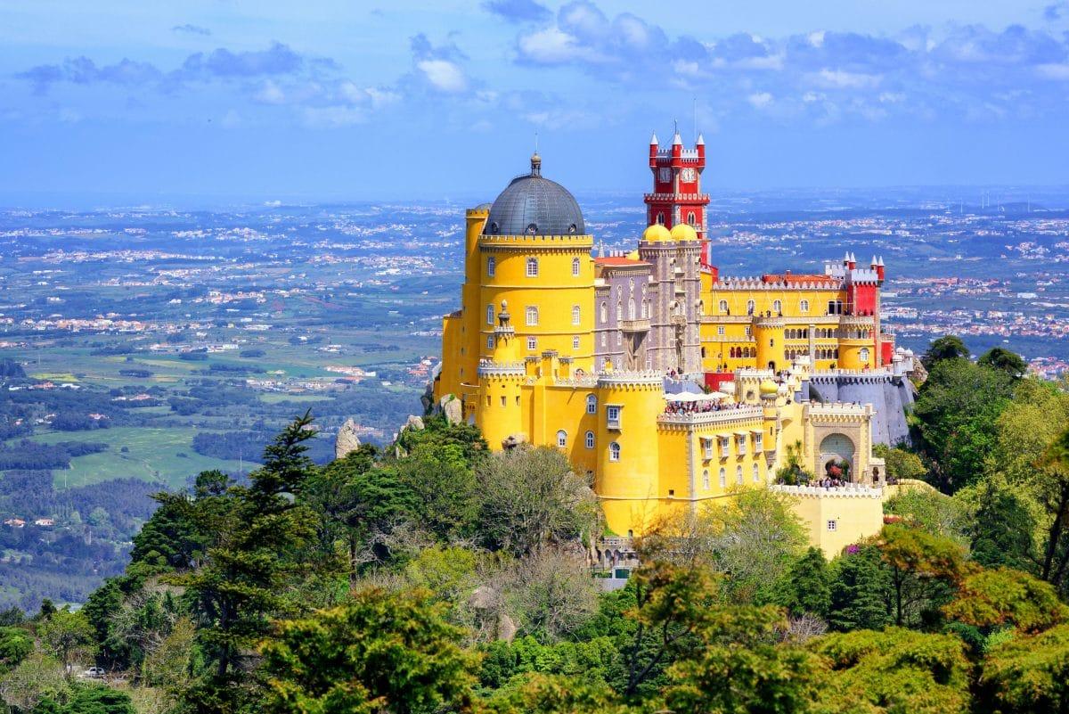 البرتغال - قصر سينترا الوطني