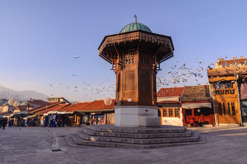 البوسنة والهرسك - البازار القديم باسكارييا
