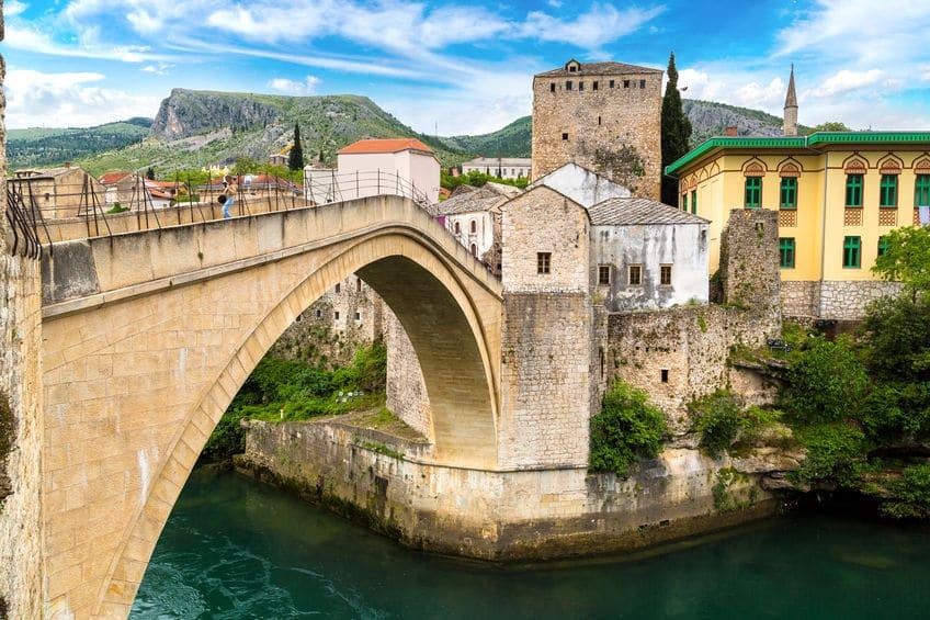 البوسنة والهرسك - جسر ستاري موست