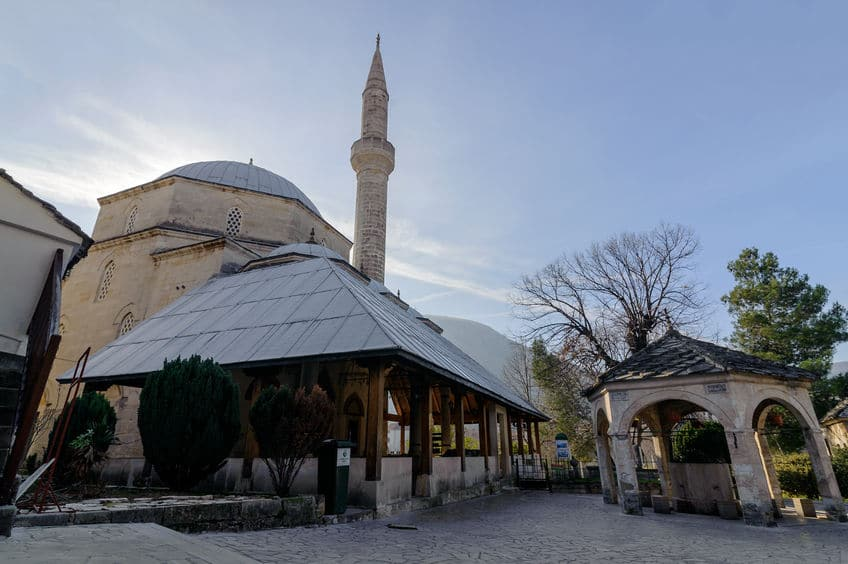 البوسنة والهرسك - مسجد محمد باشا كوسكي