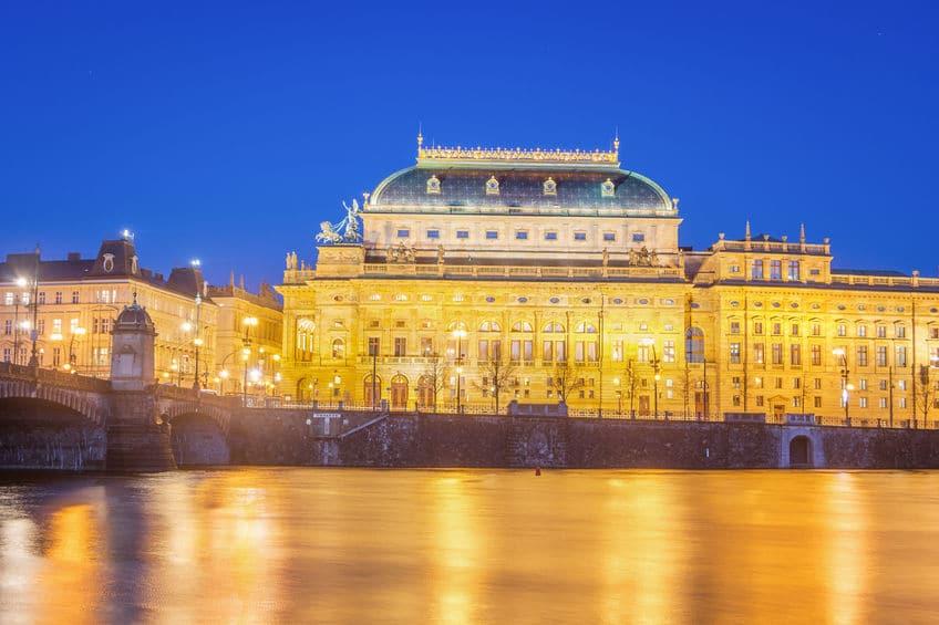 التشيك - مسرح ماهينوفو: أجمل مباني دولة التشيك