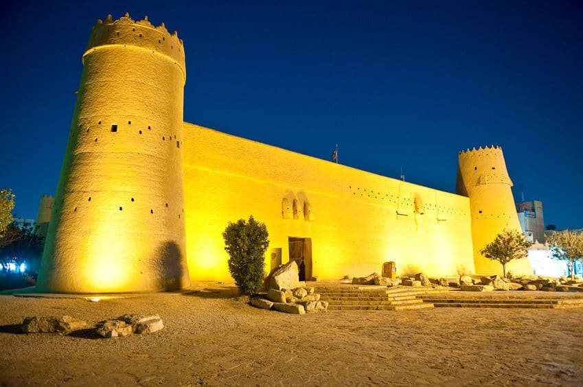 السعودية - قصر المصمك