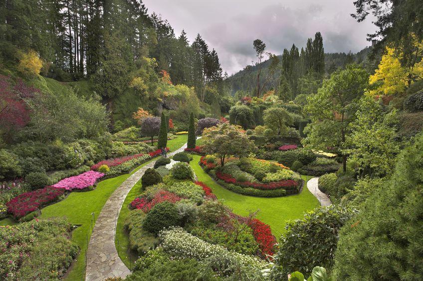 السويد - حديقة فيسبي النباتية Visby Botanical Garden