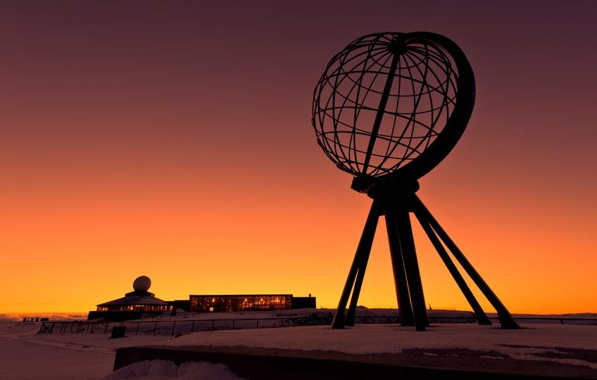النرويج - نورد كاب: جرف يجذب أكثر من ربع مليون سائح سنويً