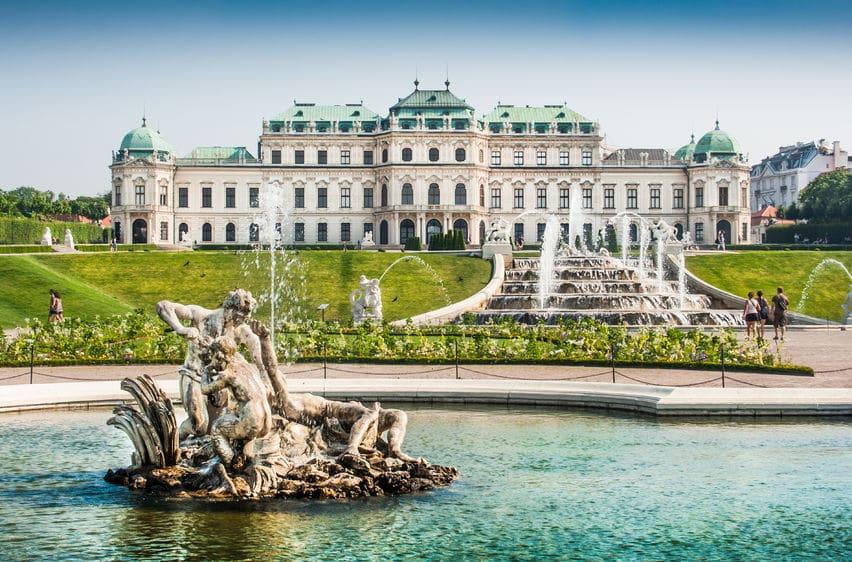 النمسا - بيلفيدير: متحف وقصر في آنٍ واحد