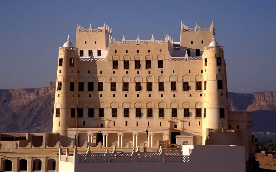 اليمن - قصر سيئون: مكان تاريخي في مدينة تاريخية