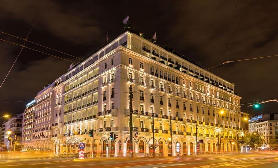 اليونان - فندق جراند برتاني
