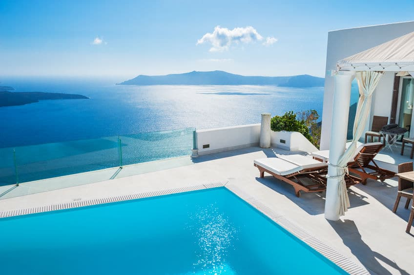 اليونان - فندق كاتيكيز في سانتوريني