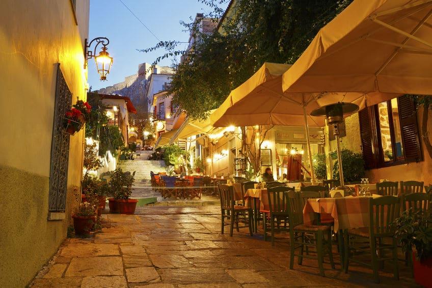 اليونان - مطعم نرجيلة Nargile