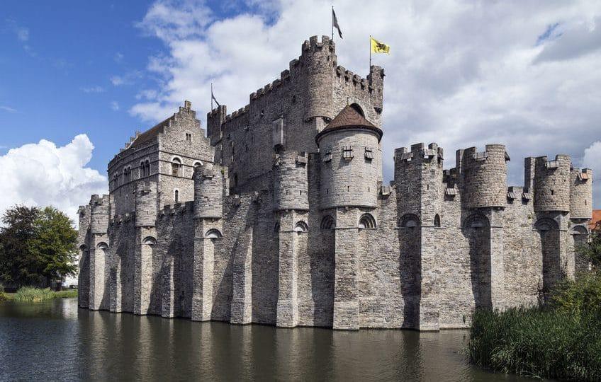 بلجيكا - قلعة غرافنستين Gravensteen