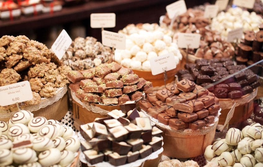 بلجيكا - متجر Passion للشكولاتة البلجيكية الأصيلة