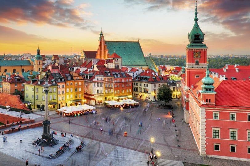 بولندا - القلعة الملكية، وارسو