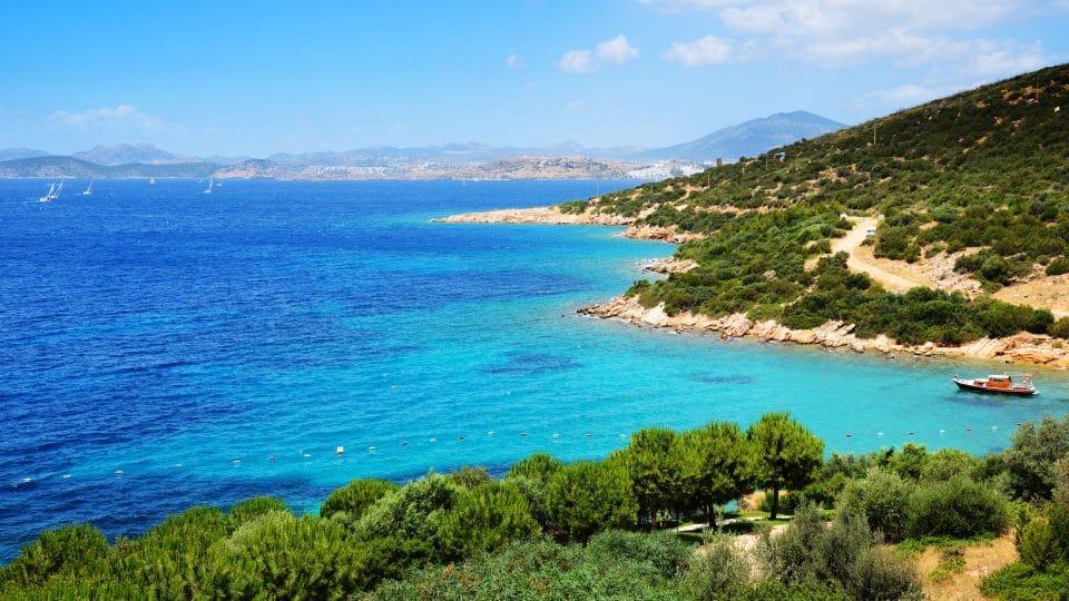 تركيا - شاطئ فينك: تحفة بودروم الساحلية