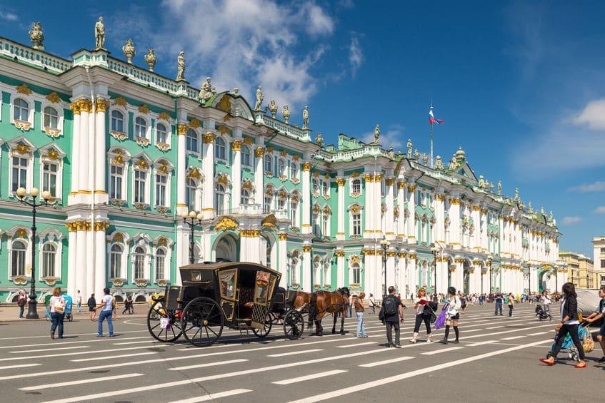 روسيا - الارميتاج: أشهر متاحف روسيا