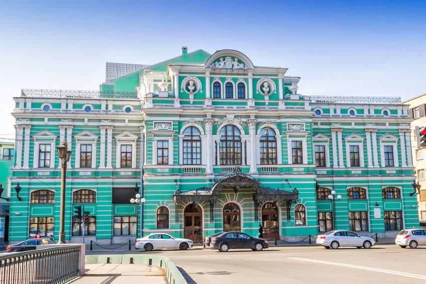 روسيا - مارينسكي: مسرح روسيا الأول