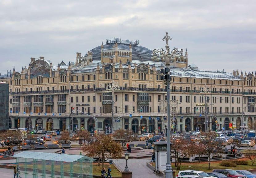 روسيا - متروبول: فندق تاريخي في مدينة موسكو