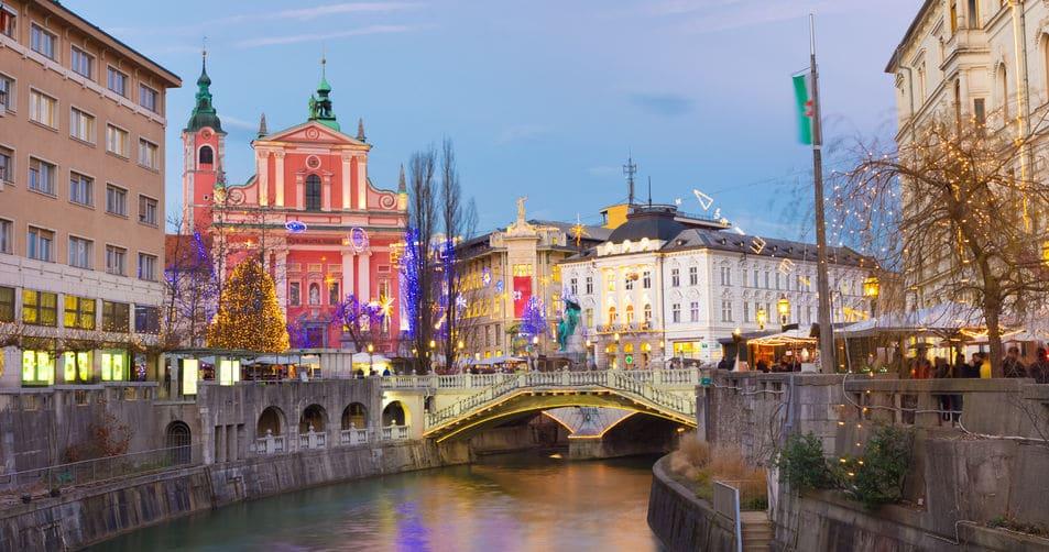 سلوفينيا - الجسر الثلاثي ترومو سفتو فجي