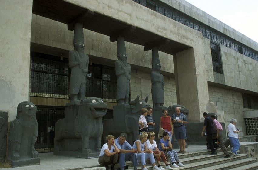 سوريا - المتحف الوطني بدمشق