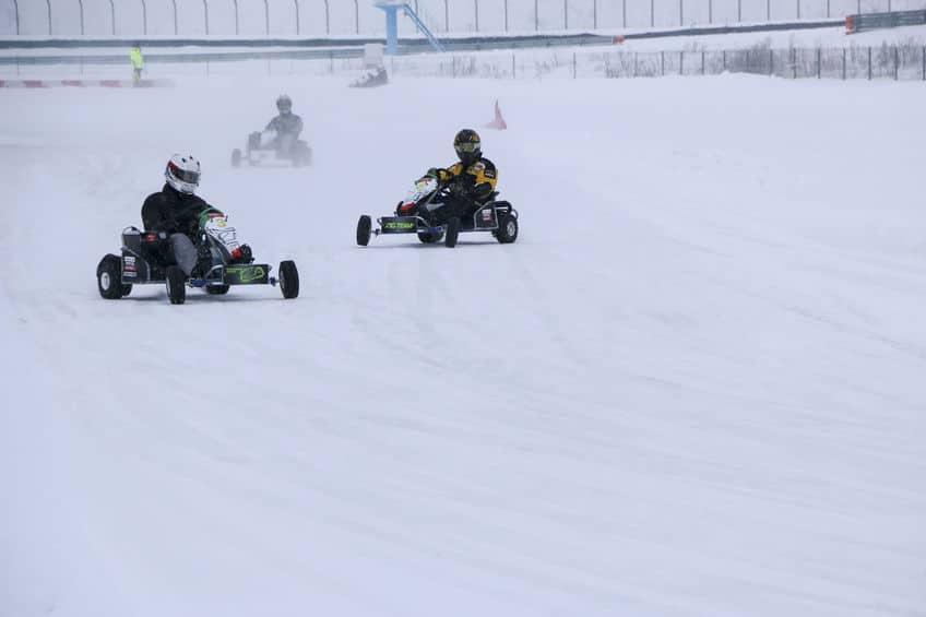 فنلندا - حلبة سباق السيارات في منتجع ليفي