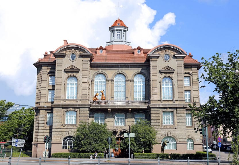 فنلندا - متحف التاريخ الطبيعي في هلسنكي