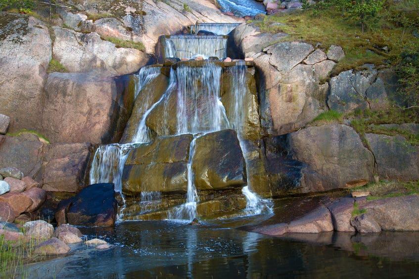 فنلندا - منتزه وحديقة Sapokka Water