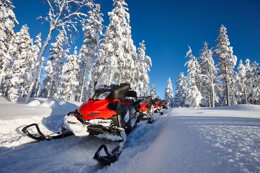 فنلندا - منتزه وسفاري Arctic Circle Snowmobile