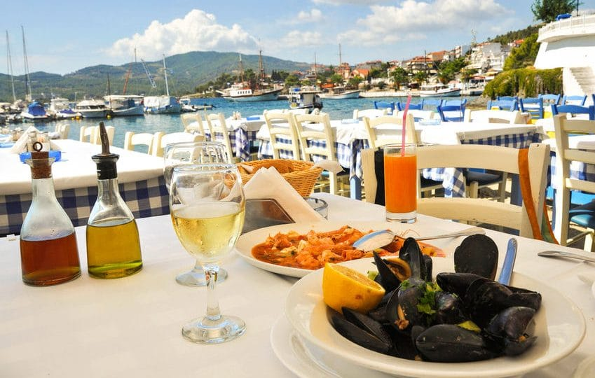 قبرص - بلاكيوتيكو: مطعم يوناني في قلب قبرص