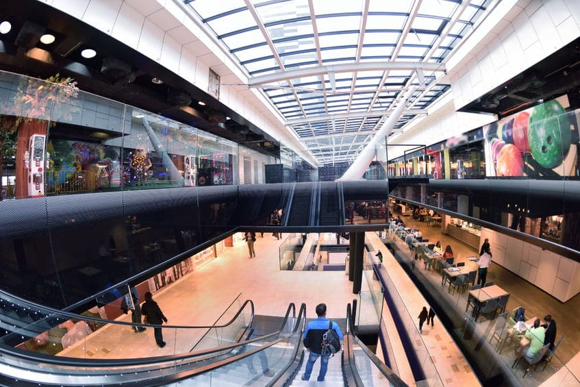 لوكسمبورغ - مركز التسوق La Belle Etoile