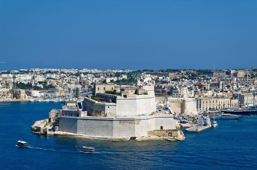مالطا - قلعة سانت انجيلو: قلعة تاريخية عريقة في مالطا