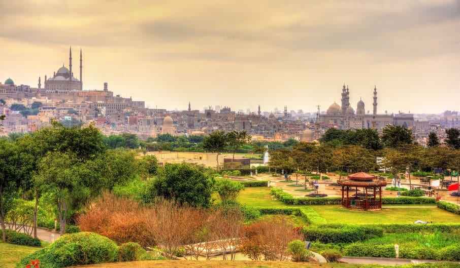 مصر - حديقة الأزهر