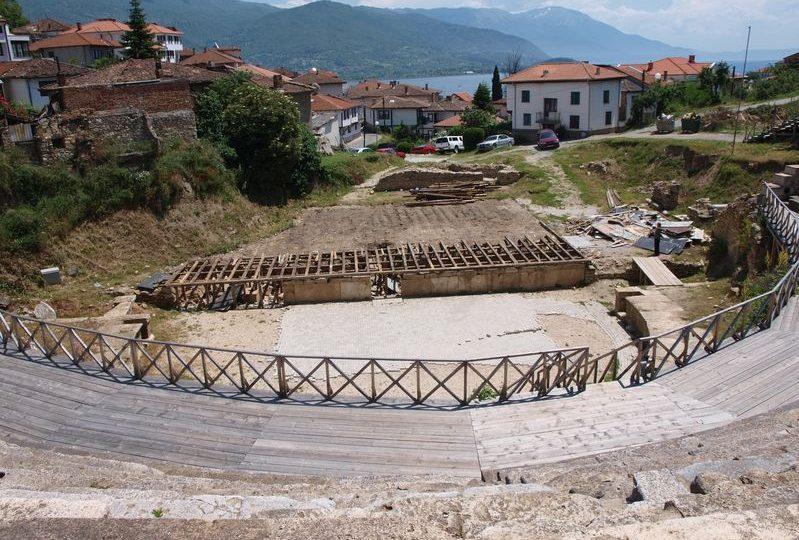 مقدونيا - المسرح القديم: مسرح الرومان في أوهريد