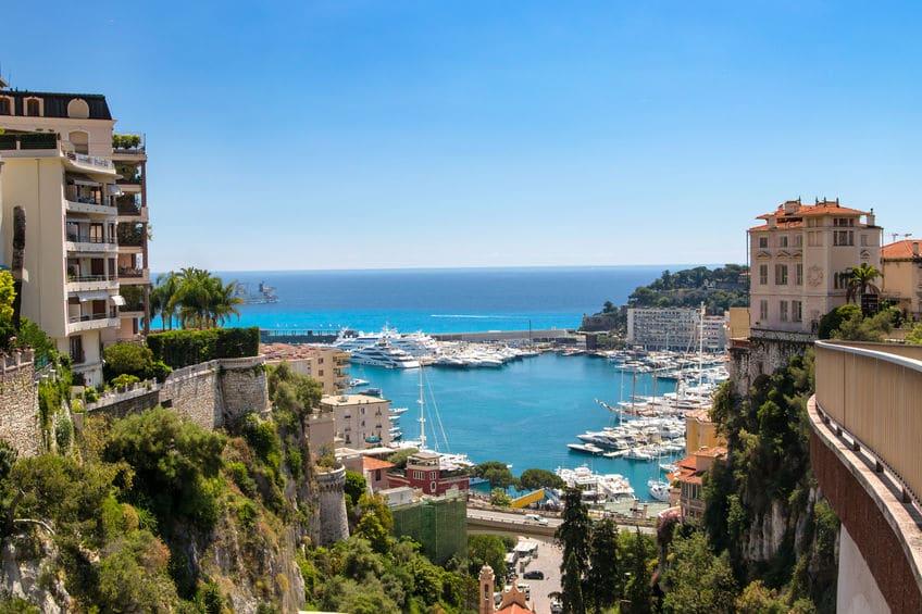 موناكو - صخرة موناكو والمدينة القديمة