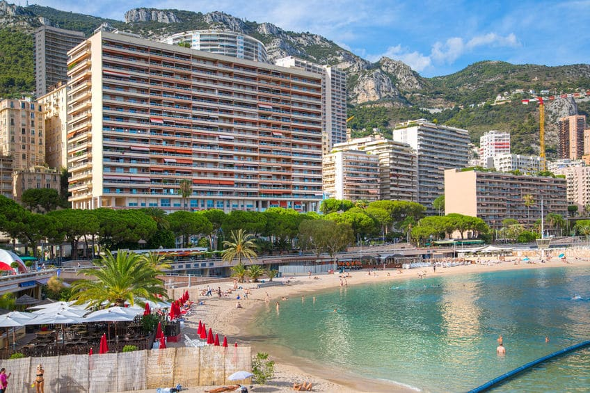 موناكو - فندق Monte Carlo Beach
