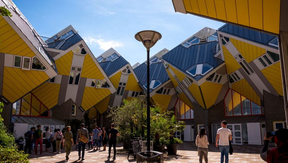 هولندا - المنازل المكعبة: طريقك لجولة سياحية لا تُعوض