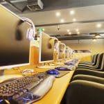 مقهى إنترنت CyberCafé Internet